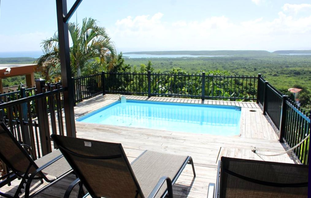 2 BR Home with a Caribbean View