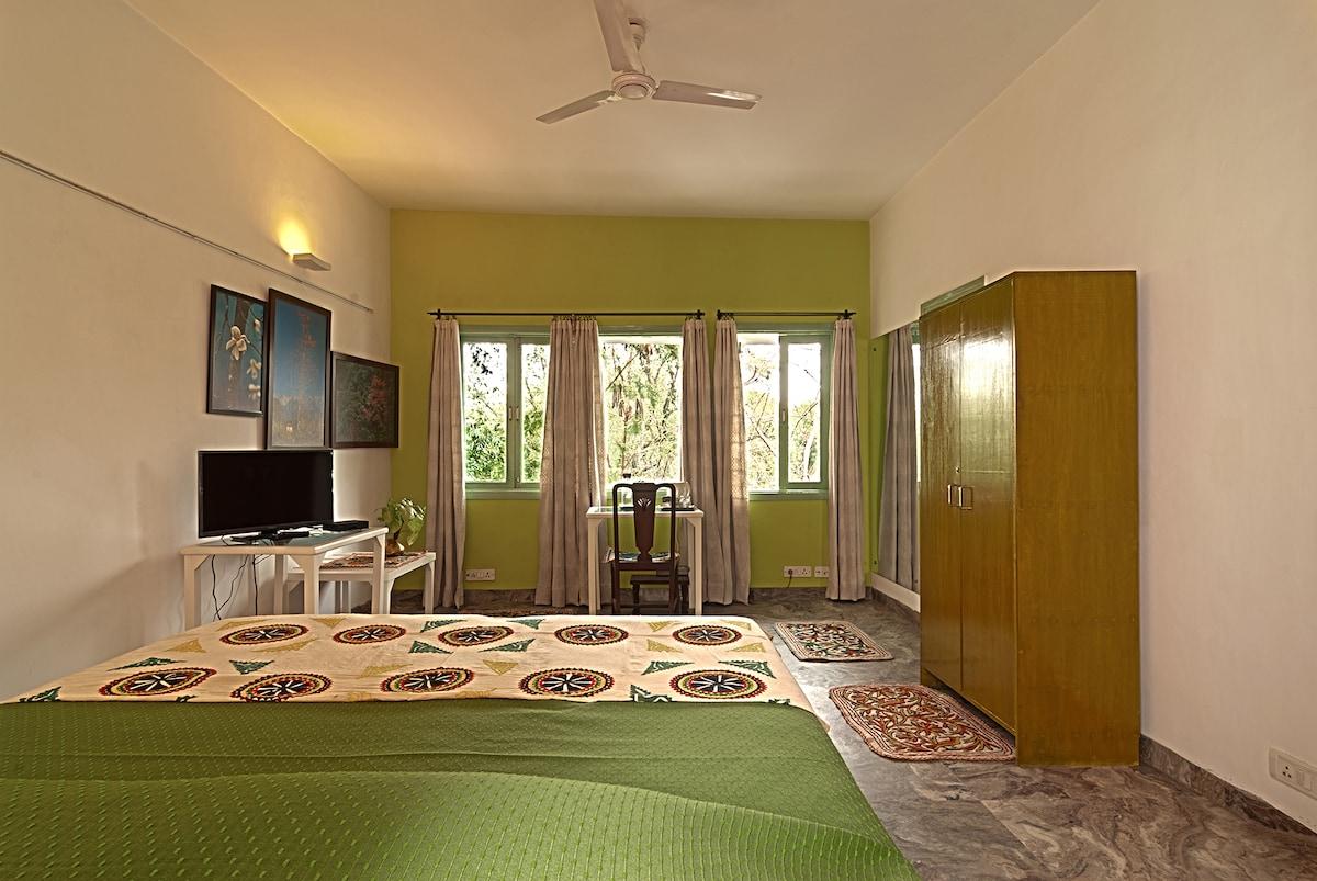 Haveli Hauz Khas, deluxe room Neem