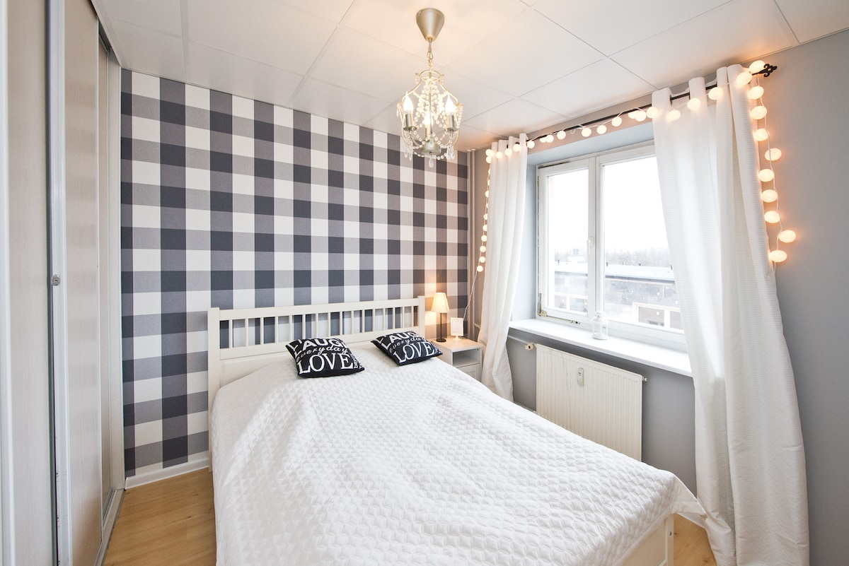 Cosy room for two in Gdańsk!