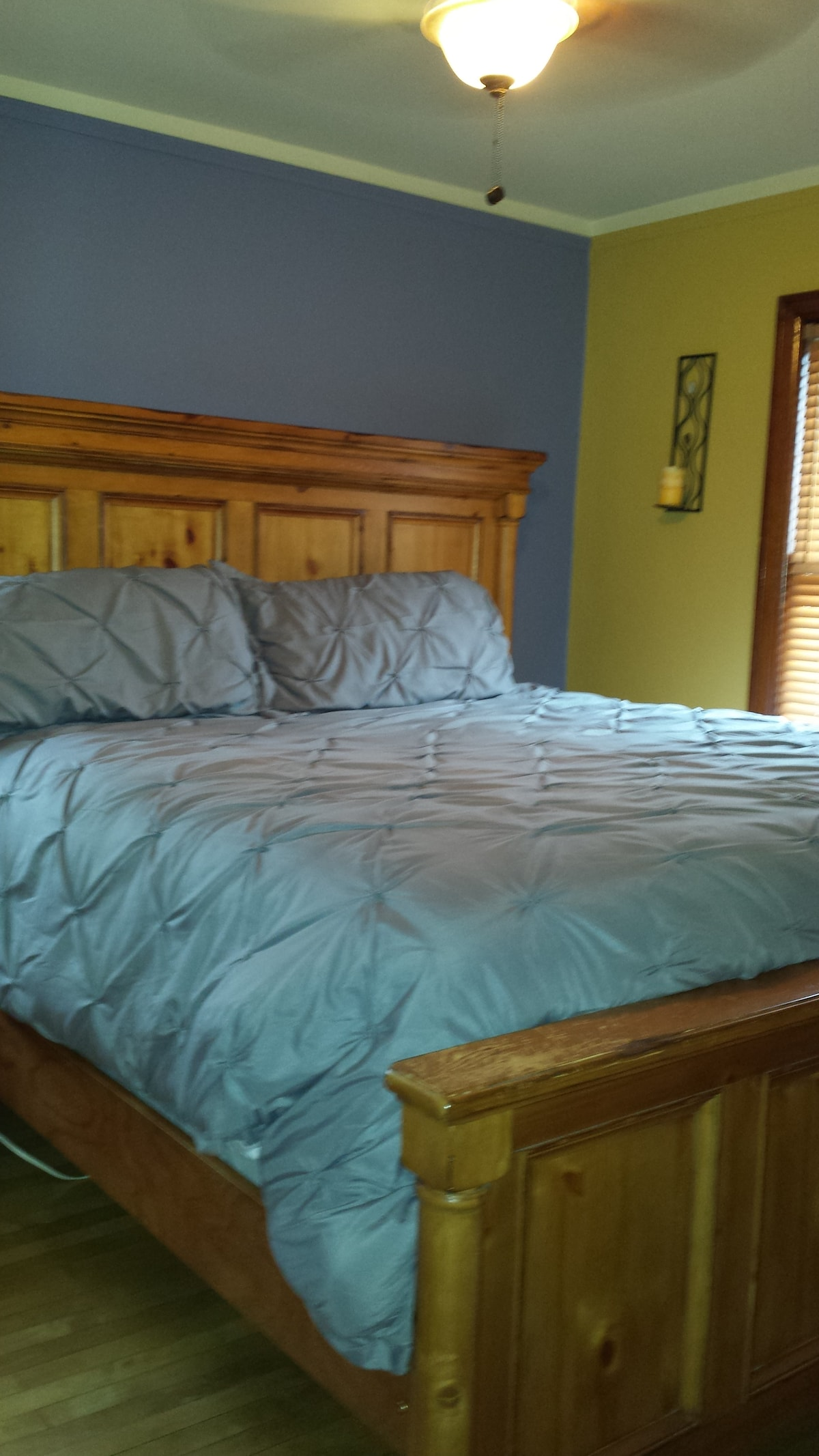 King size bed in master BR