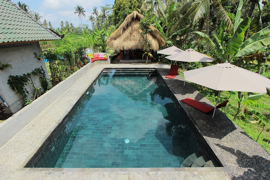 2 Home Ricefield Retreat with Pool