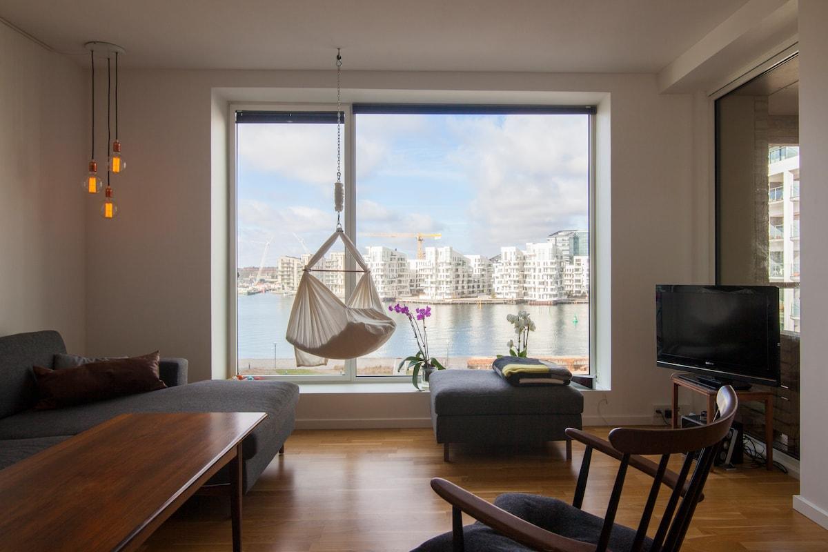 Luxurious sea view apartment 2bdr