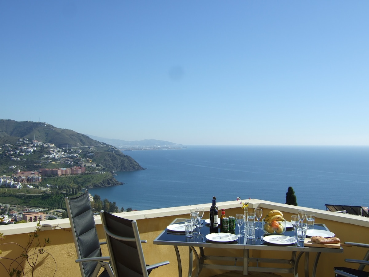 special house, stunning view