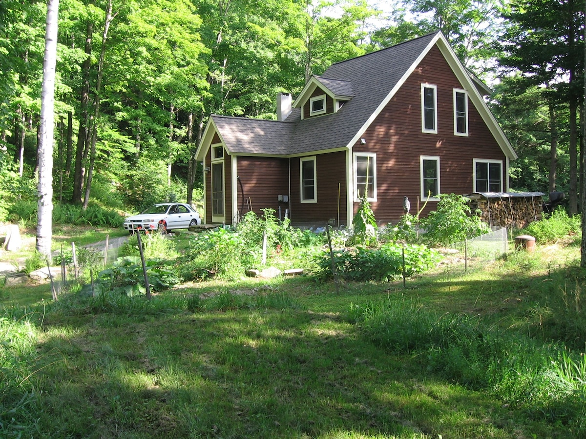 House on Mad River near Sugarbush