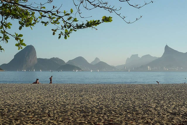 Vacation in Brasil! On the  Beach!
