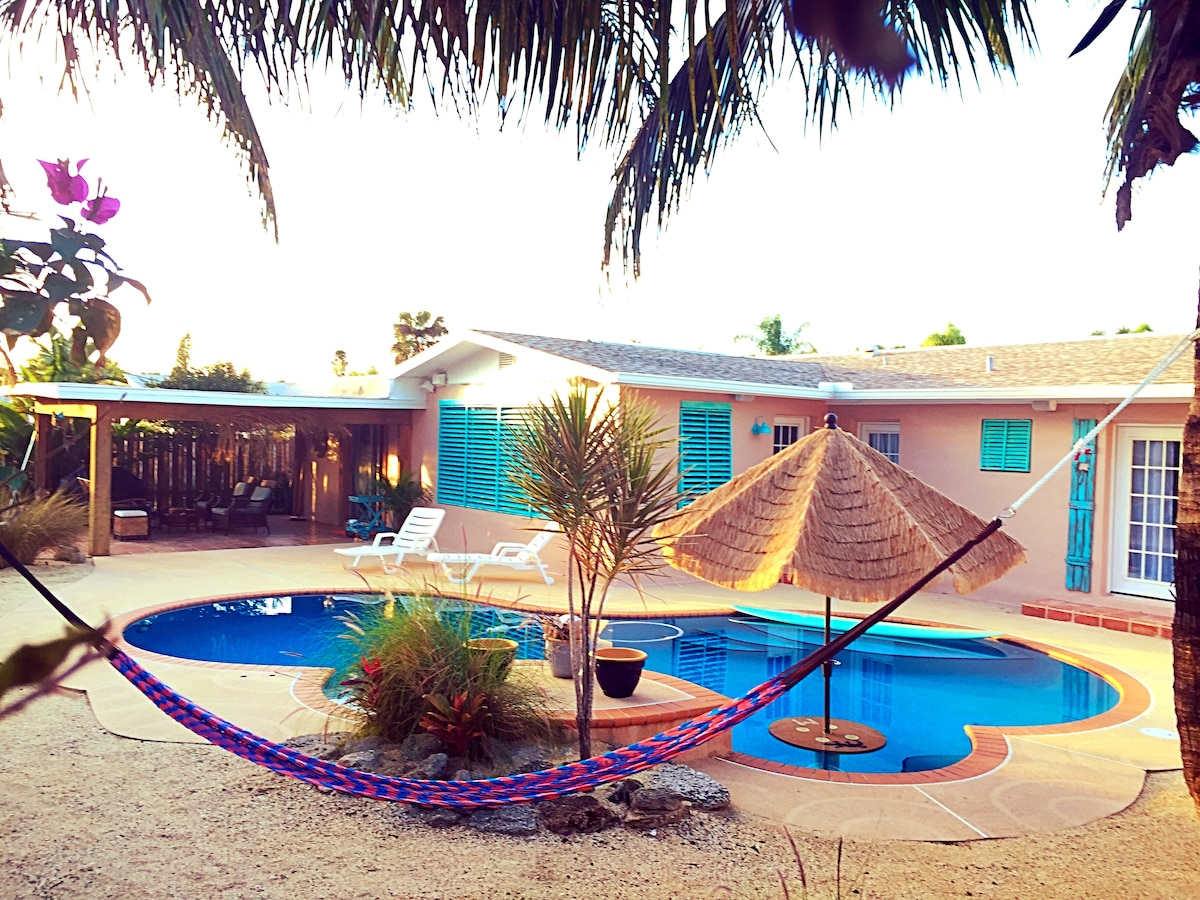 BeachHouse, Pool, and Hammocks! #1