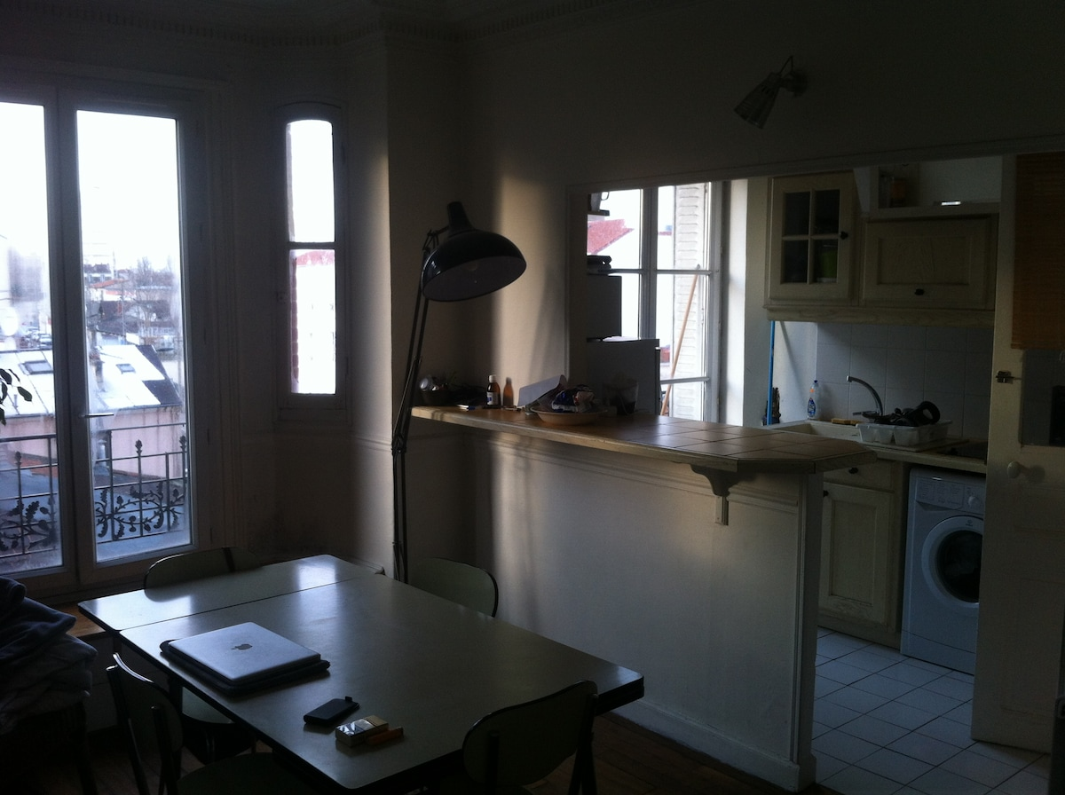 2 rooms appartment next to Canal