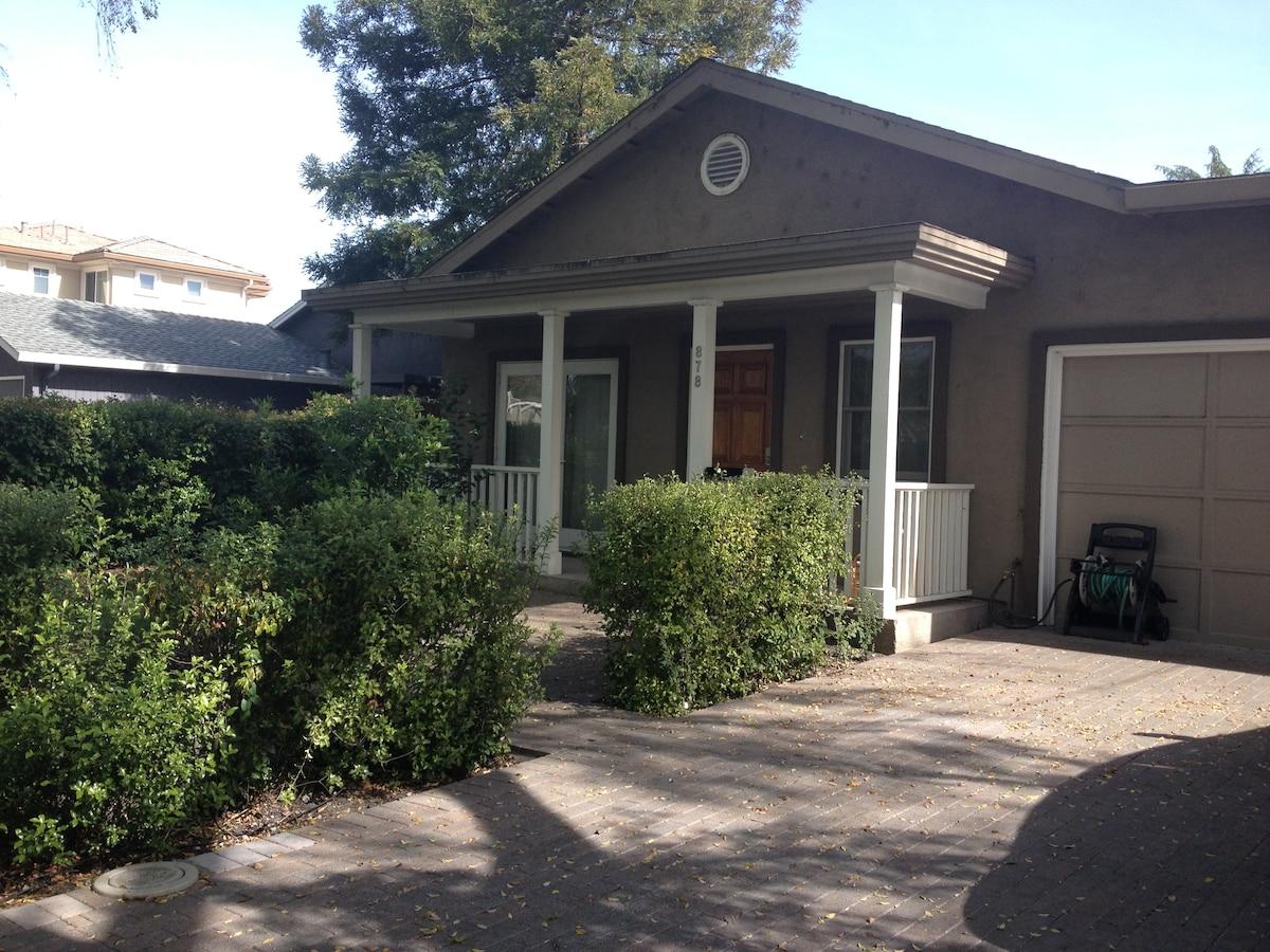 Spacious Palo Alto duplex