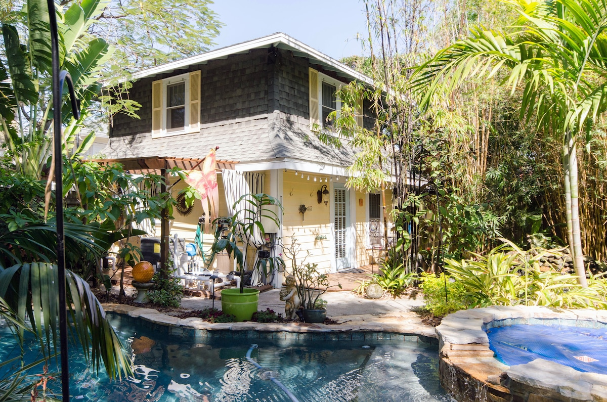 Guest House in a Tropical Setting
