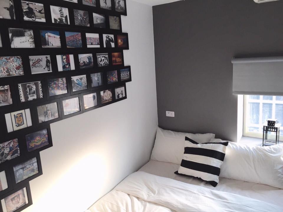Cozy Graffiti Themed Room