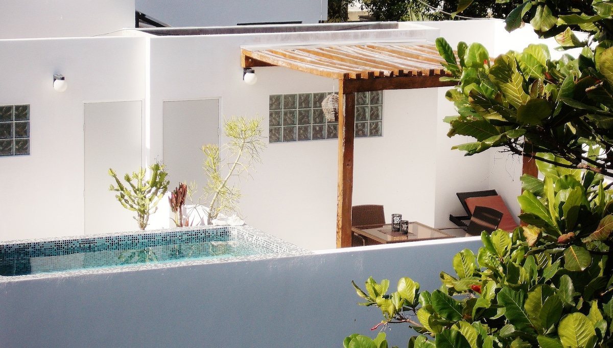 CASA NAAJ 3: Terrace and pool