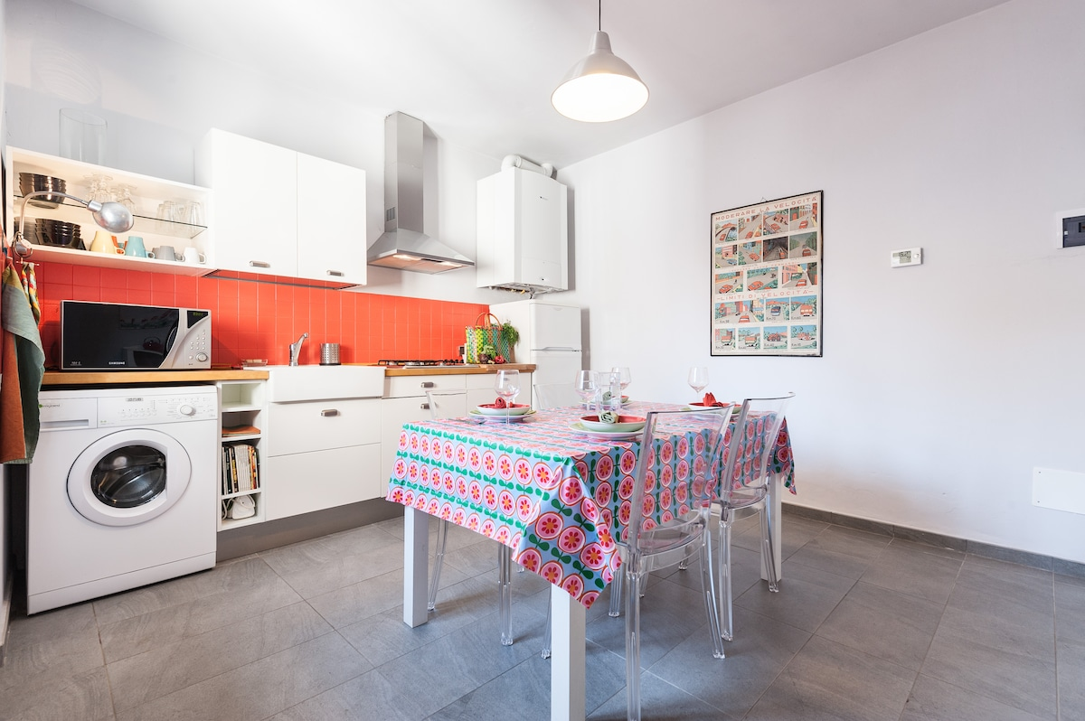 Central Quiet 3Rooms in Florence!