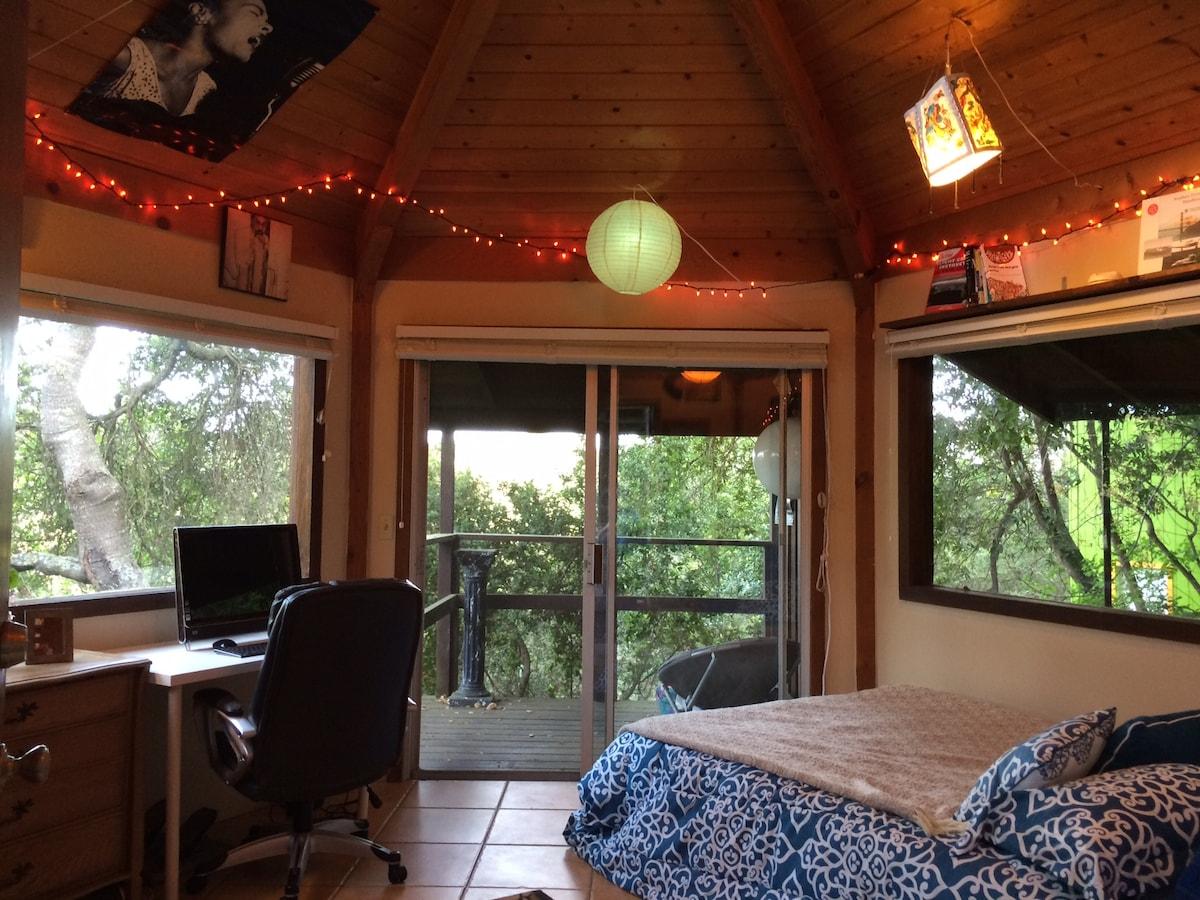 Charming Forest Cabin in Santa Cruz
