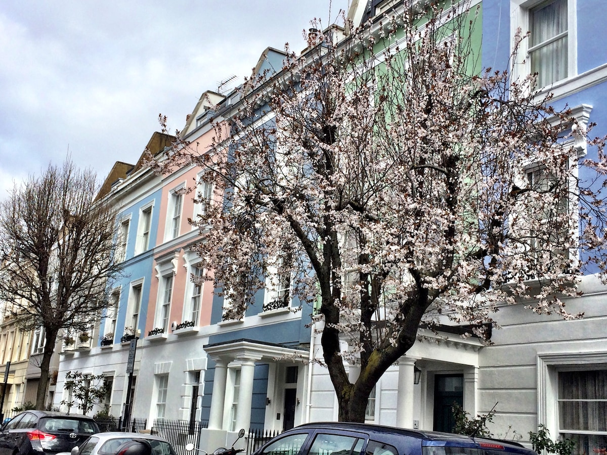 Cosy Notting Hill apartment for 4