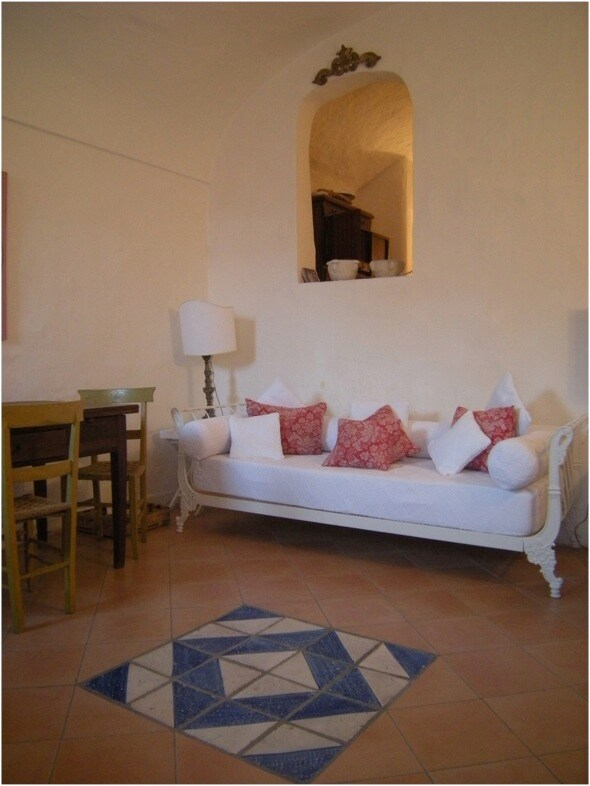 Capri Island Cosy Blue Apartment
