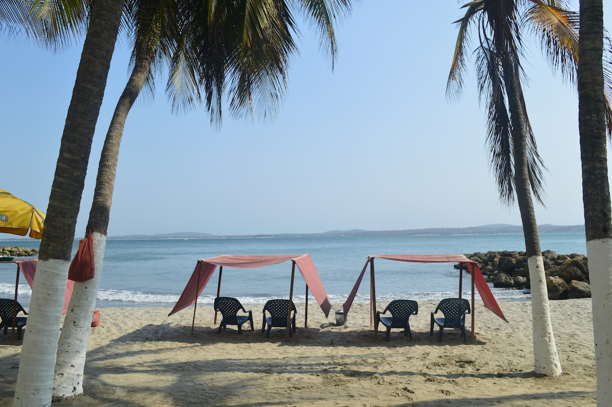 Luxury suite over the sea