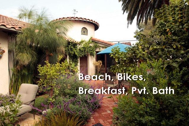 Pvt. Suite in Venice Estate w Bikes