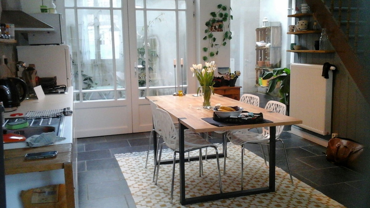 Cosy stay in Antwerp (2 to 4p)!