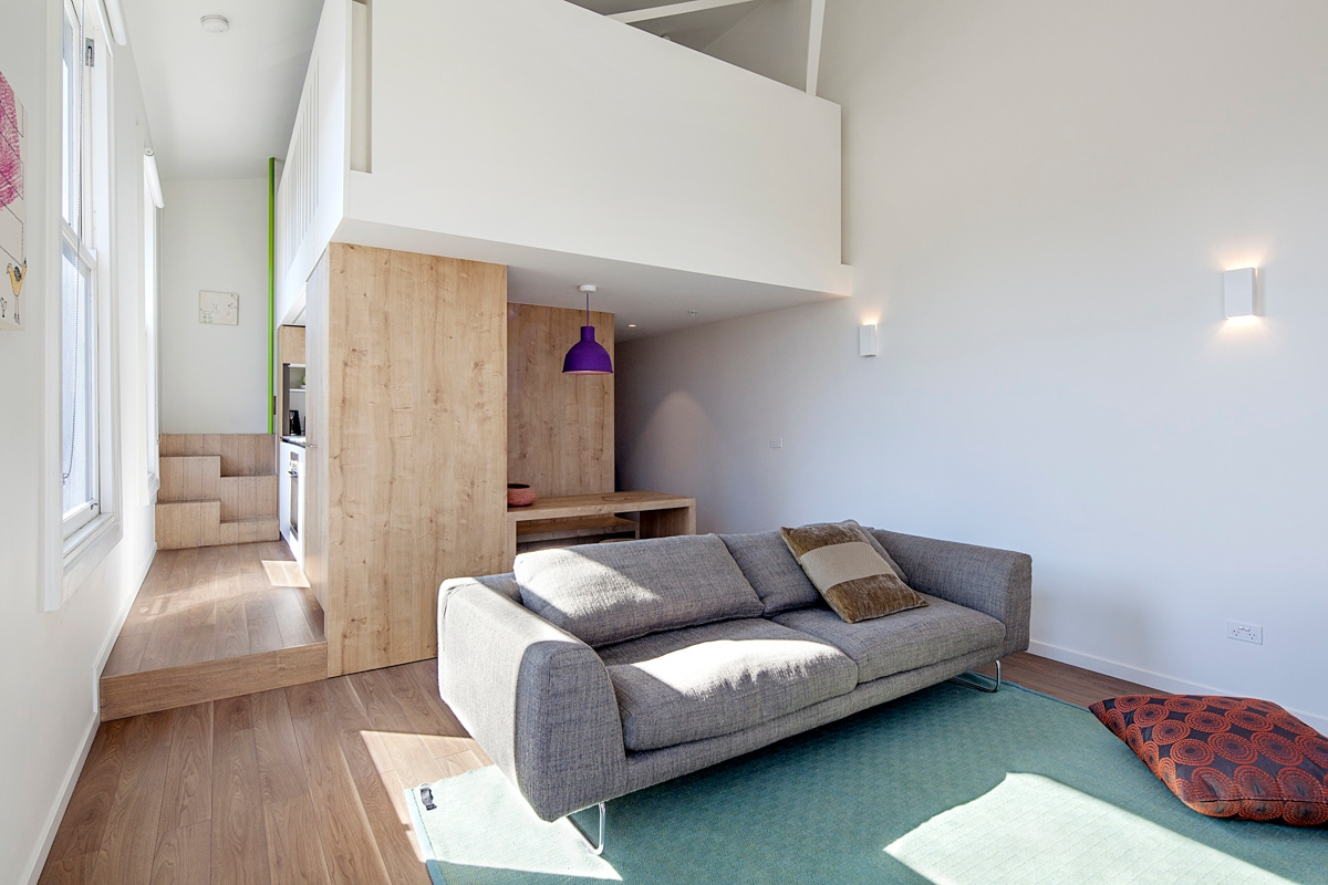 Richmond architect's own apartment