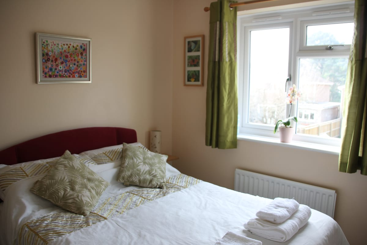 Comfy double room in our home