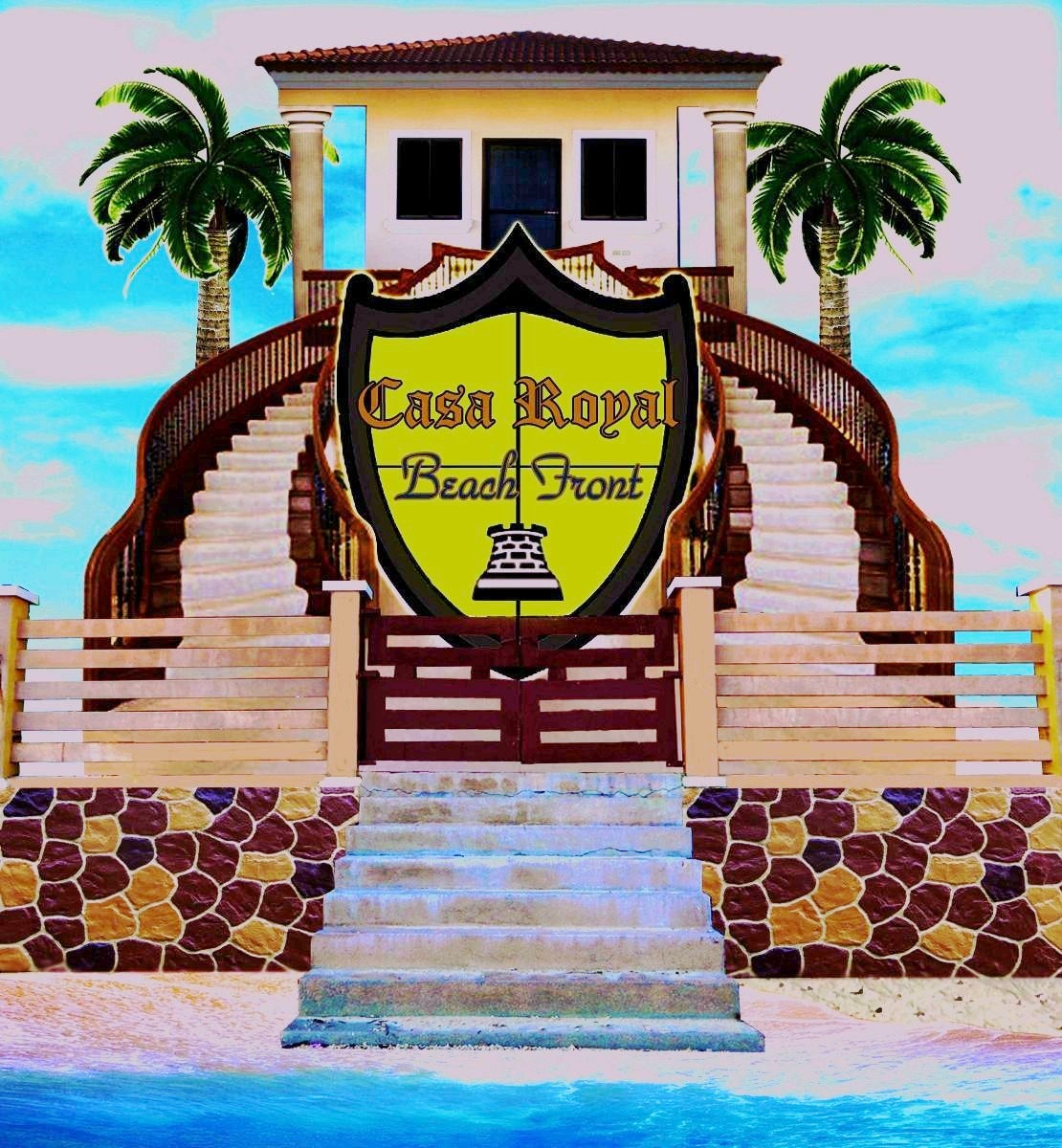 Casa Royal Beach Front - Patio
