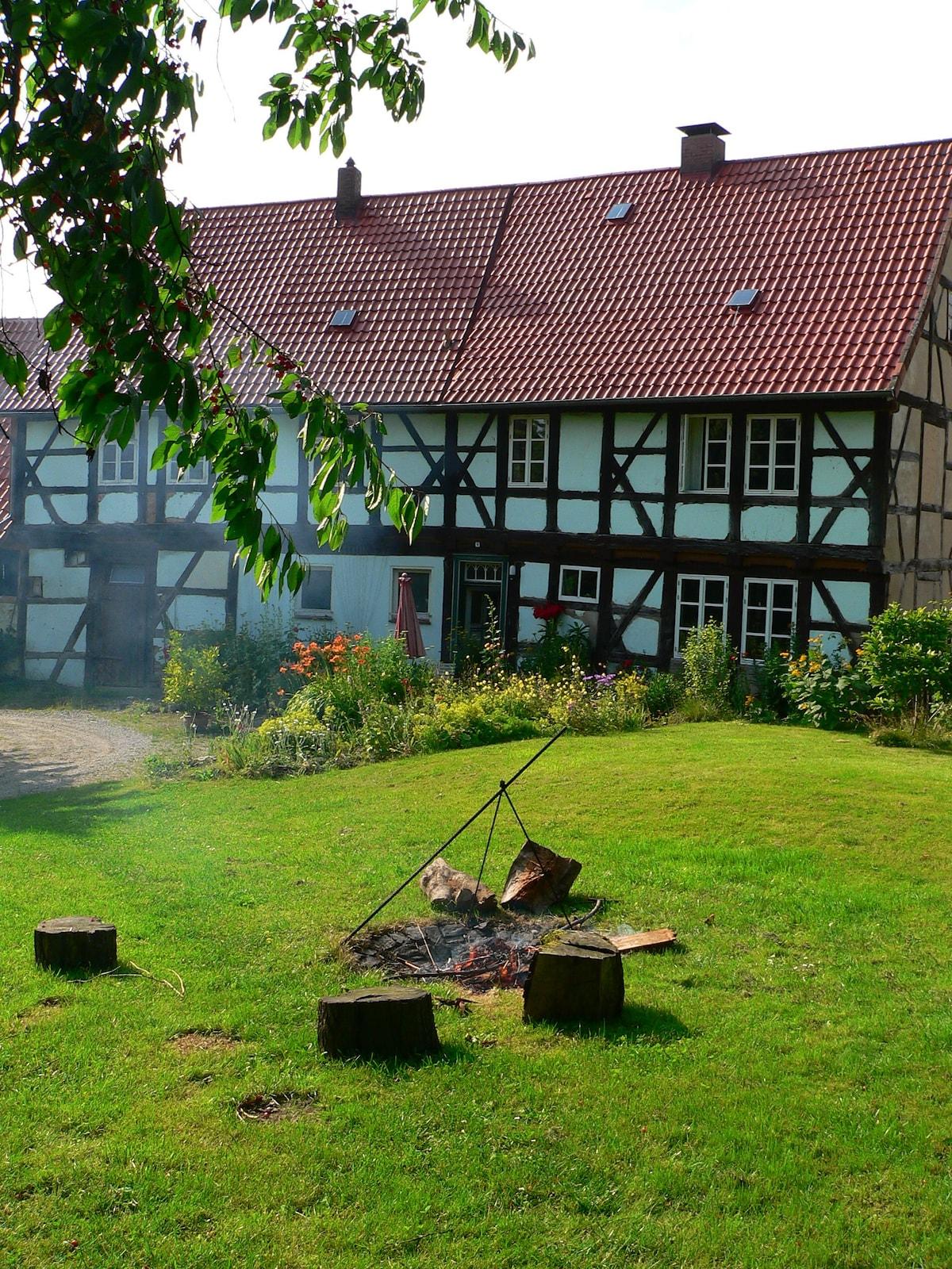 Oase in der Nähe zum Harz