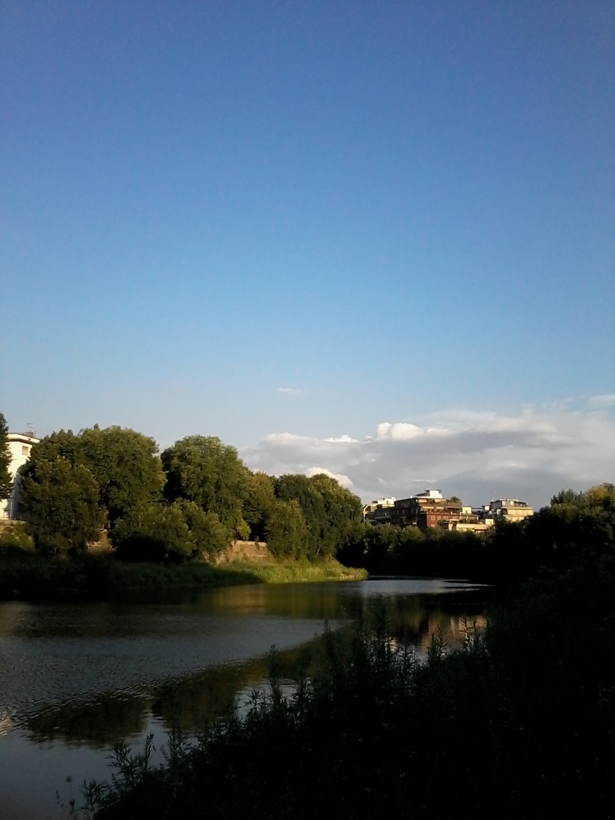10 min. walking close to river