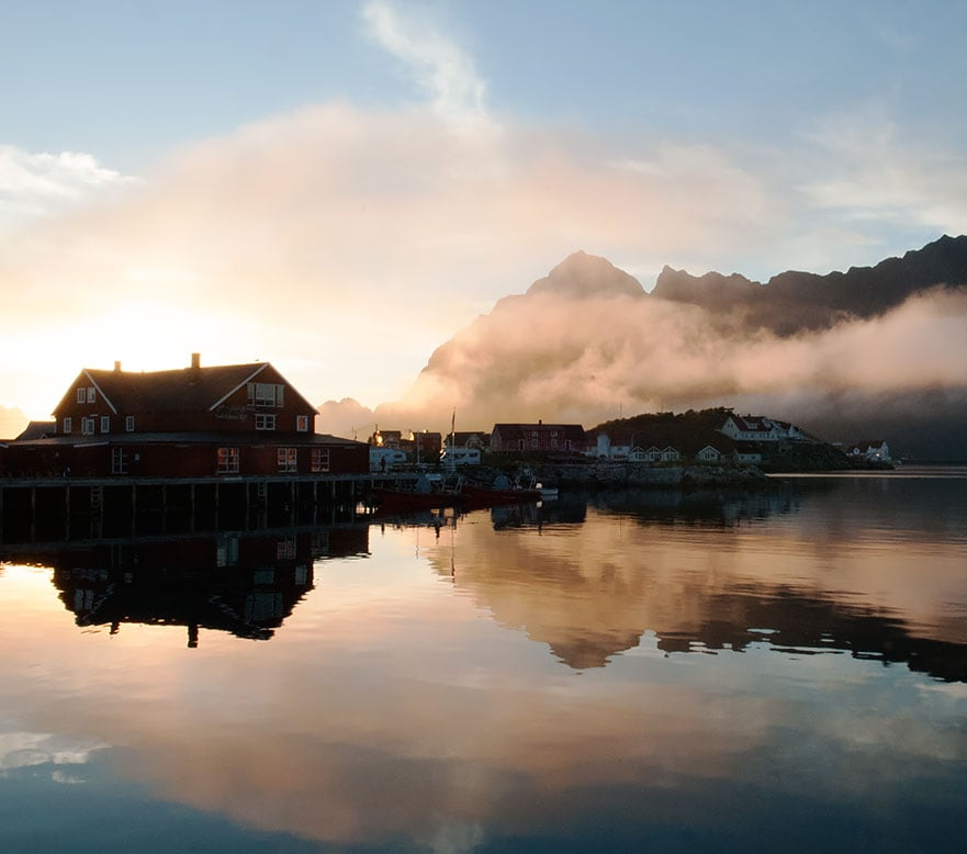 Double room in Lofoten