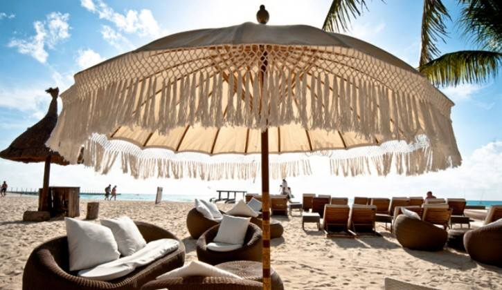 Lounges, Sun beds & Umbrellas... perfect combination!