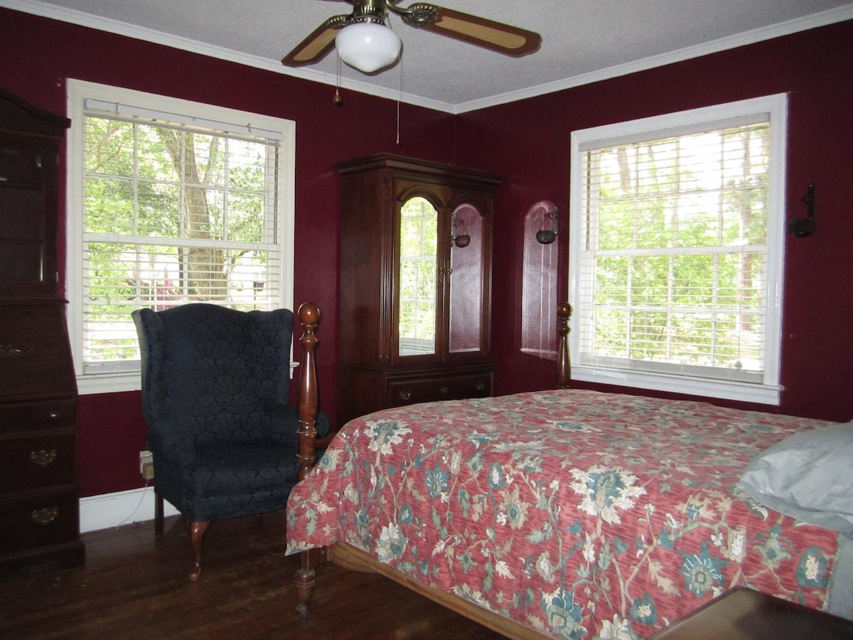 Bedroom By Botanical Gardens