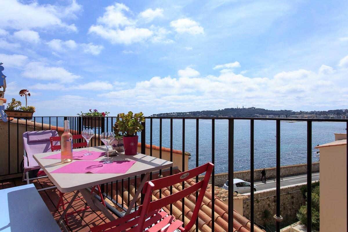 Sea View Apartment Antibes