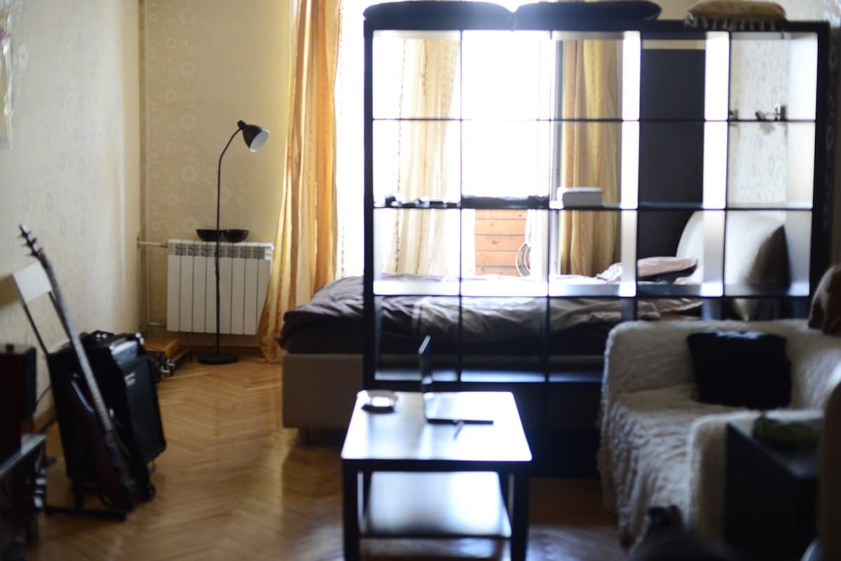 Wonderful spacious 56sq.m flat