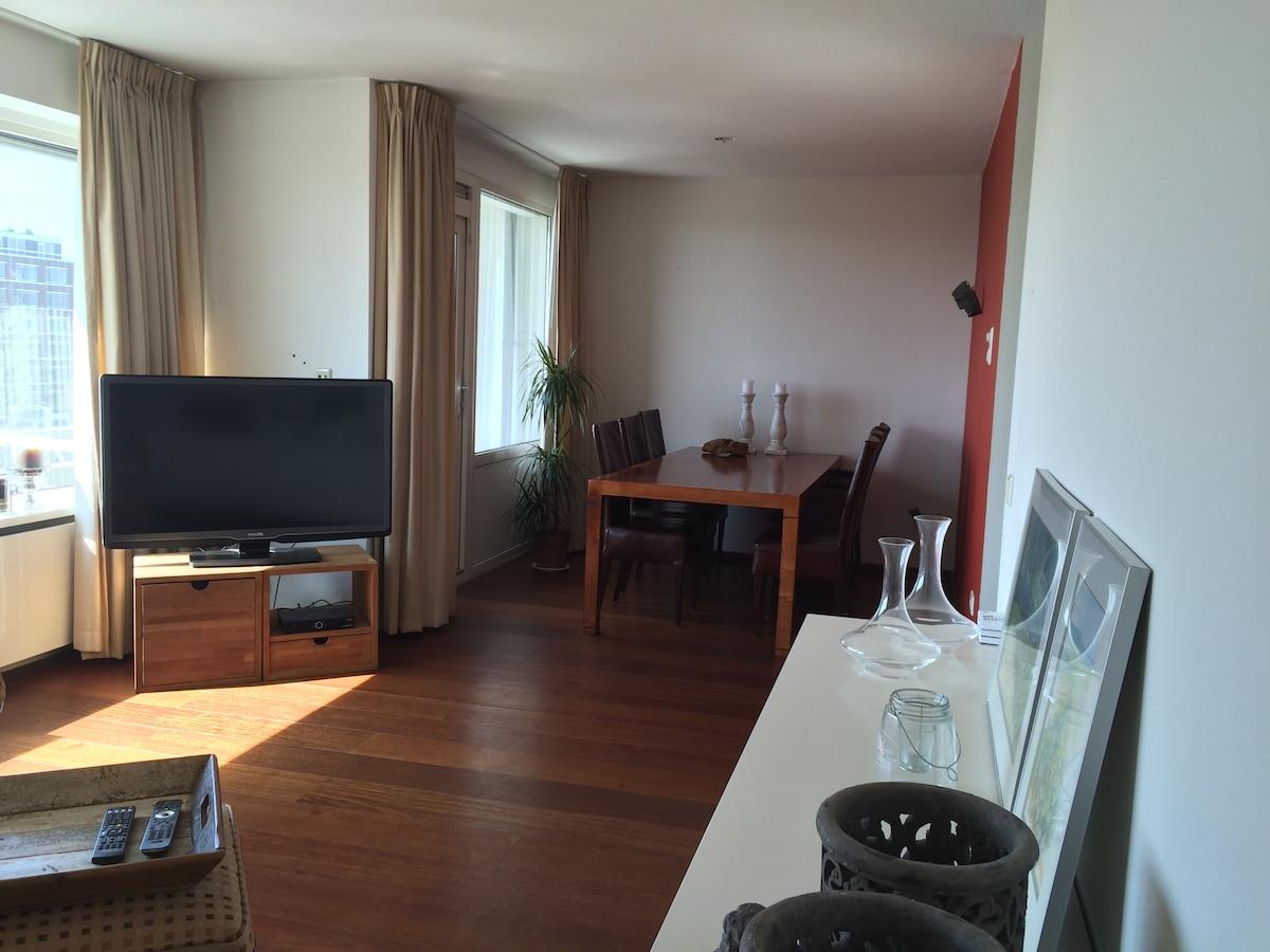 Fraai appartement nabij Utrecht