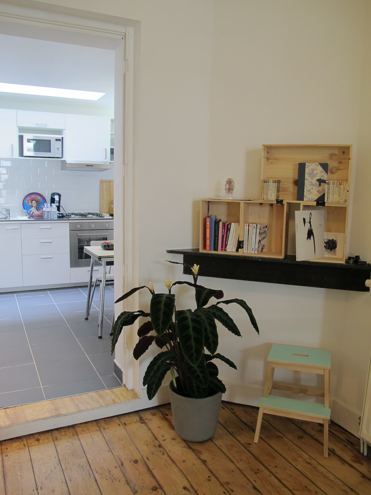 DUPLEX IN THE HEART OF SAINT-GILLES