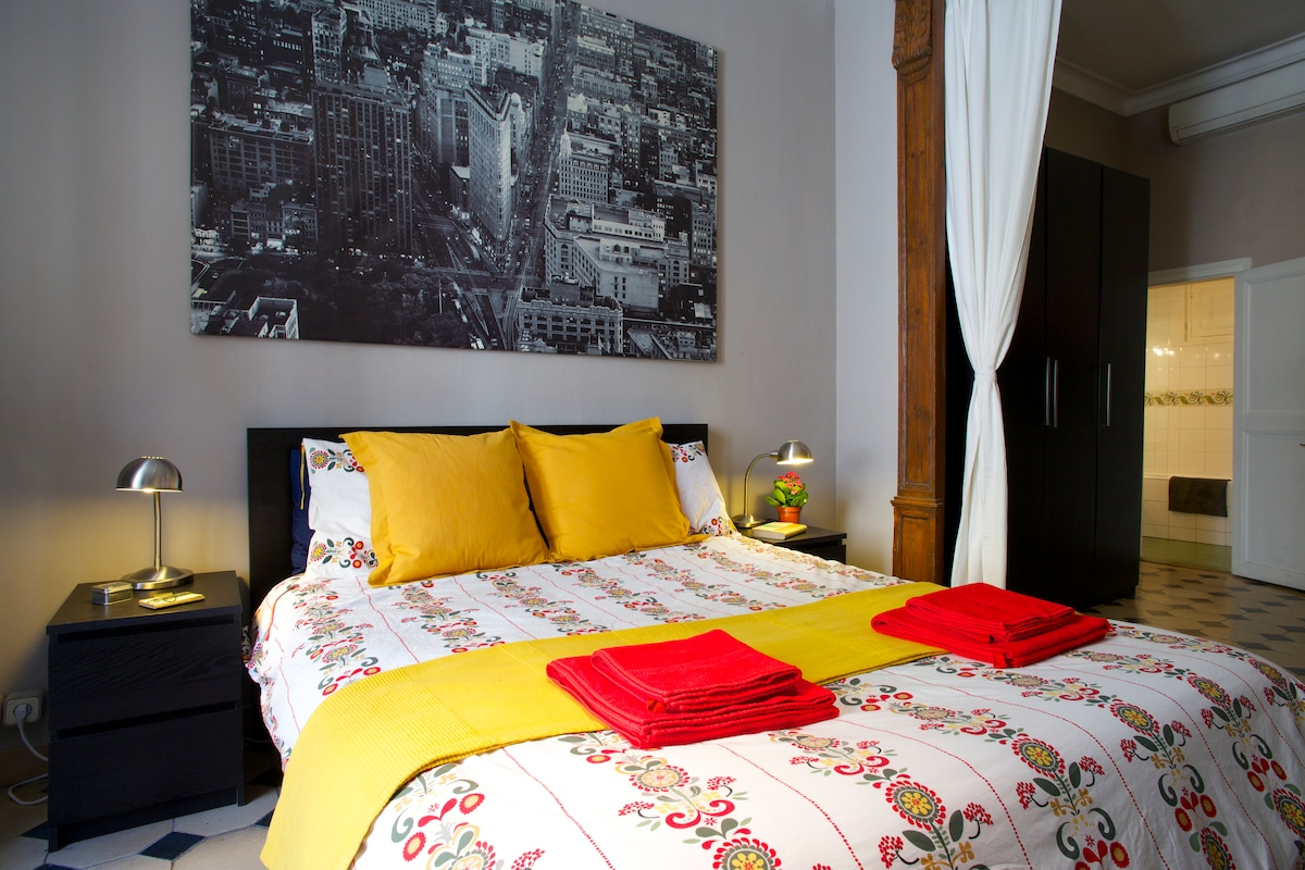 EN-SUITE CENTRAL AND TRENDY ROOM