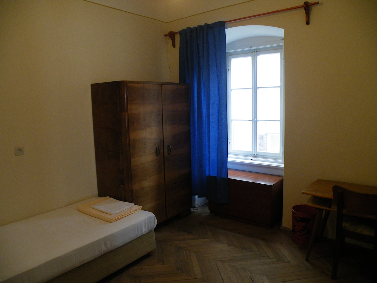 Rooms in the historical city center