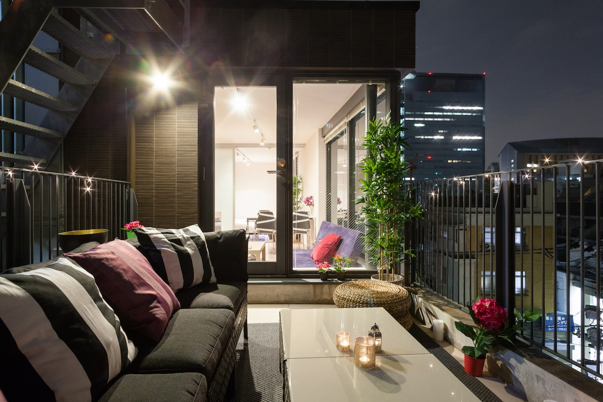 New!5min Meguro luxury 2 terraces:)