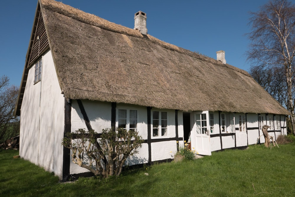Traditional, simple country house
