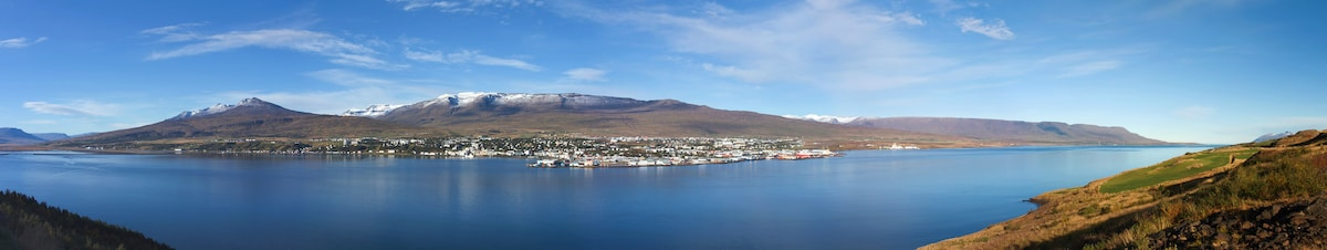Homey flat in the heart of Akureyri