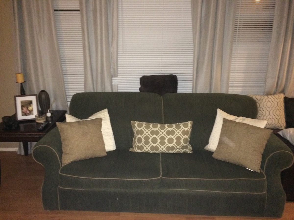 Comfy couch near LAX