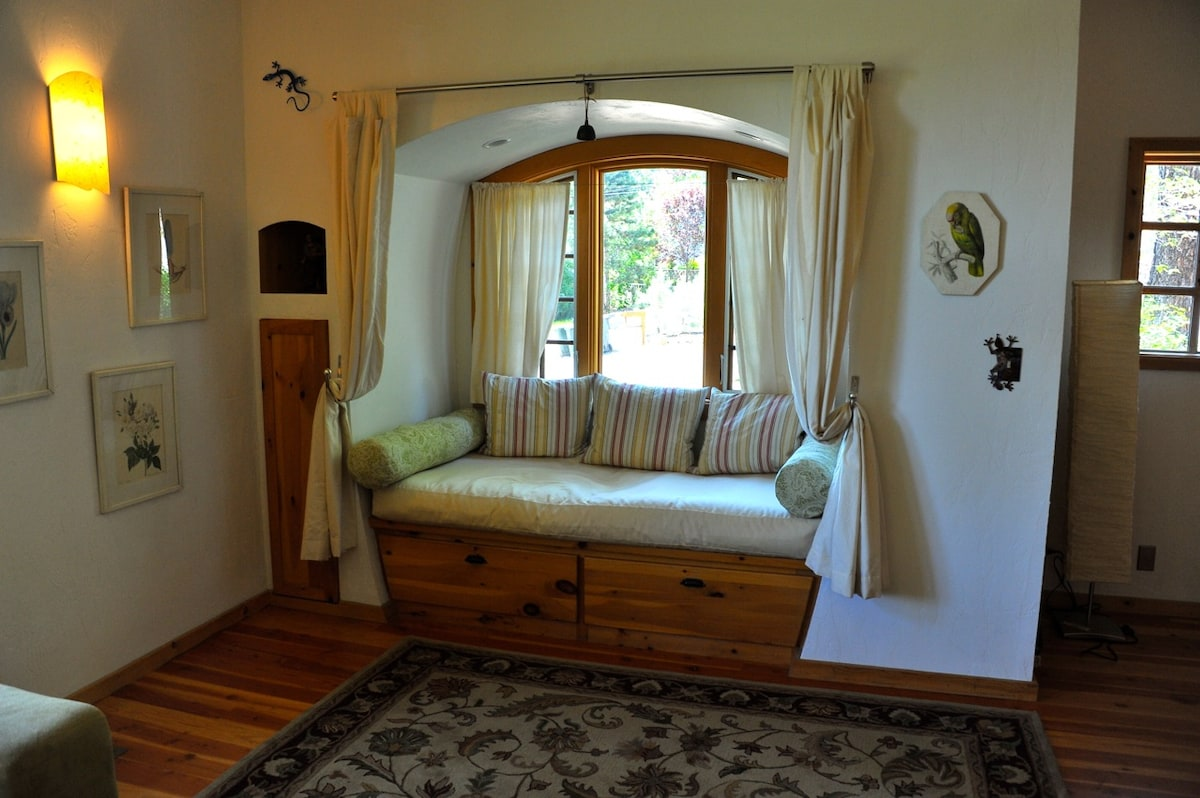 Day Bed #2--perfect for reading, afternoon naps, or an additional sleeping area!
