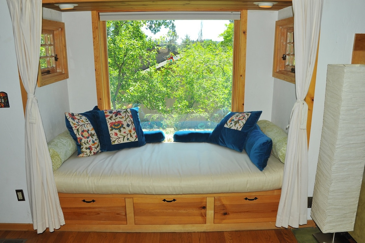 Day Bed #1--perfect for reading, afternoon naps, or an additional sleeping area!