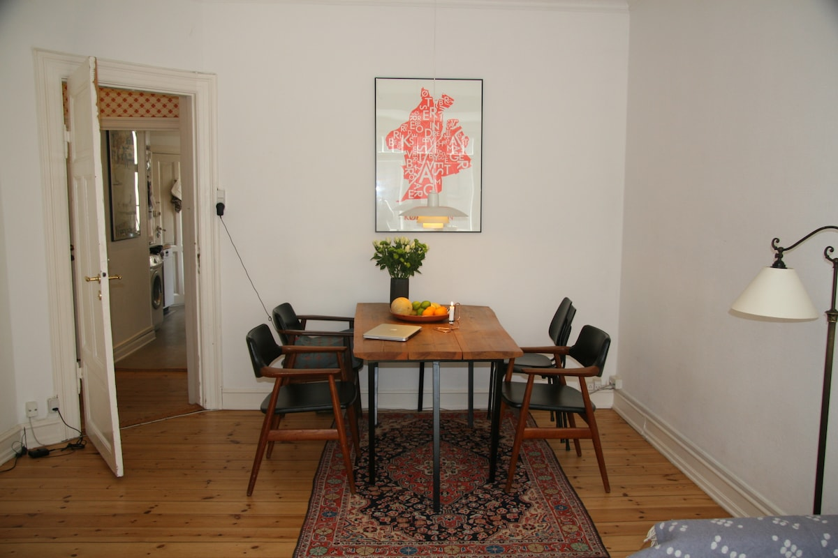 Charming 2-room apartment in CPH