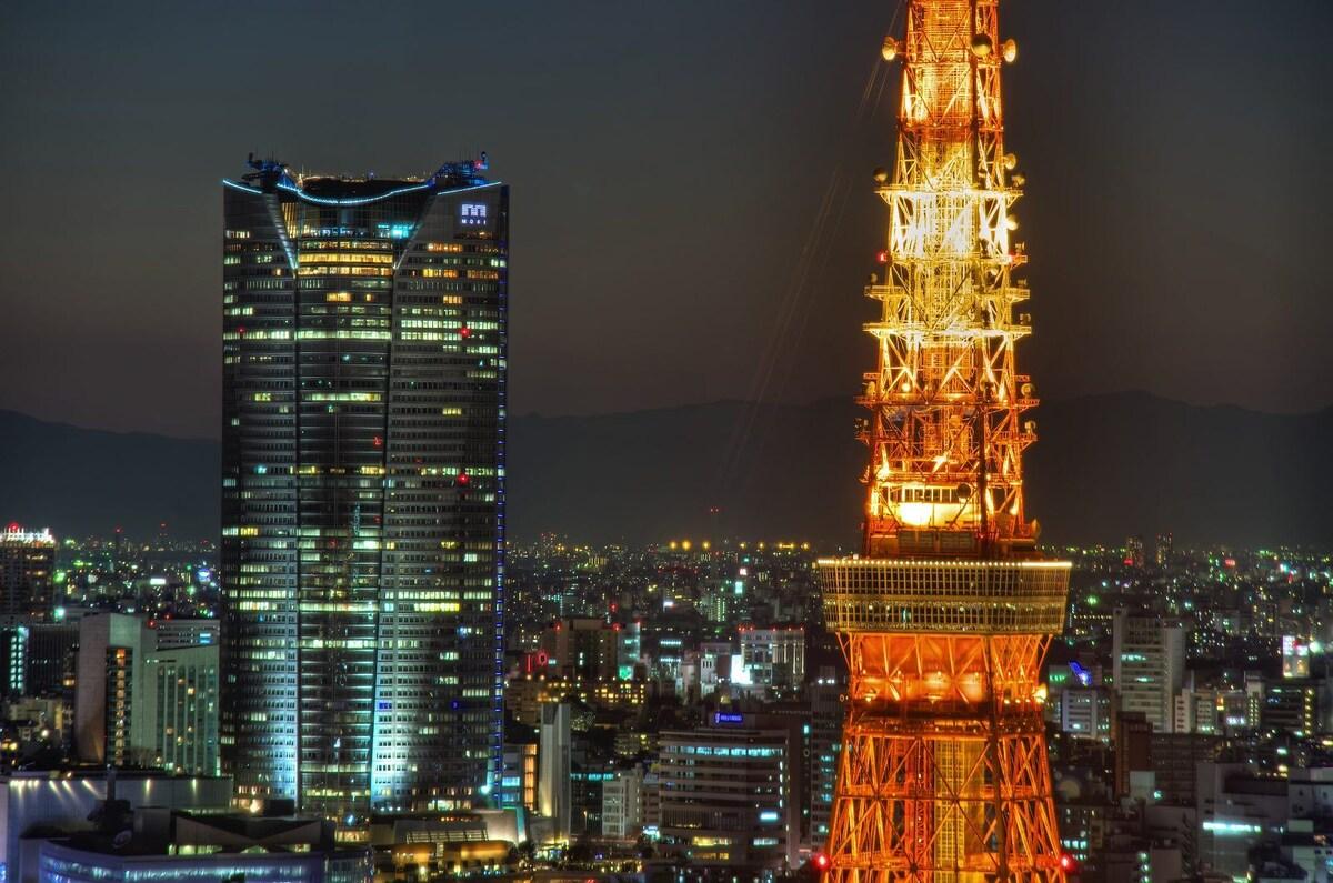 Near to Tokyooower(Center of Tokyo)