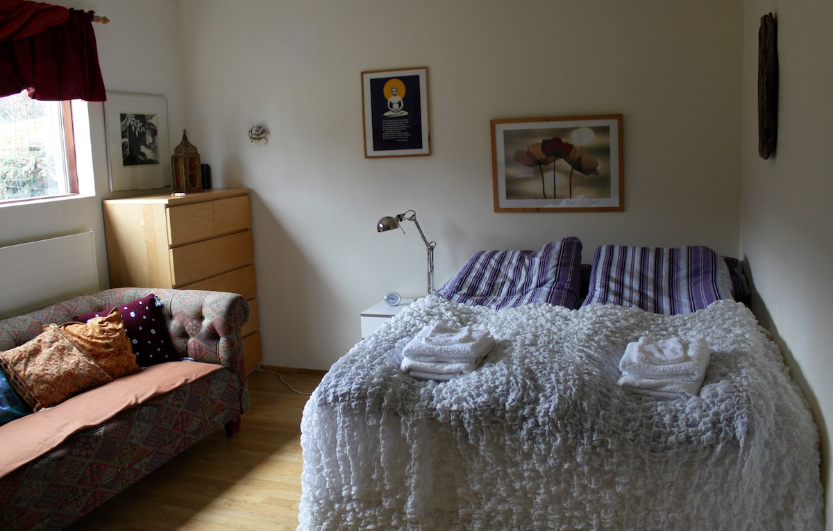 Cozy private room in Selfoss