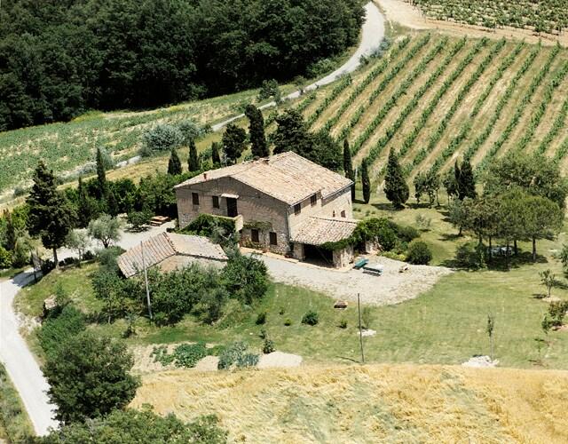 Toscana: casale con piscina