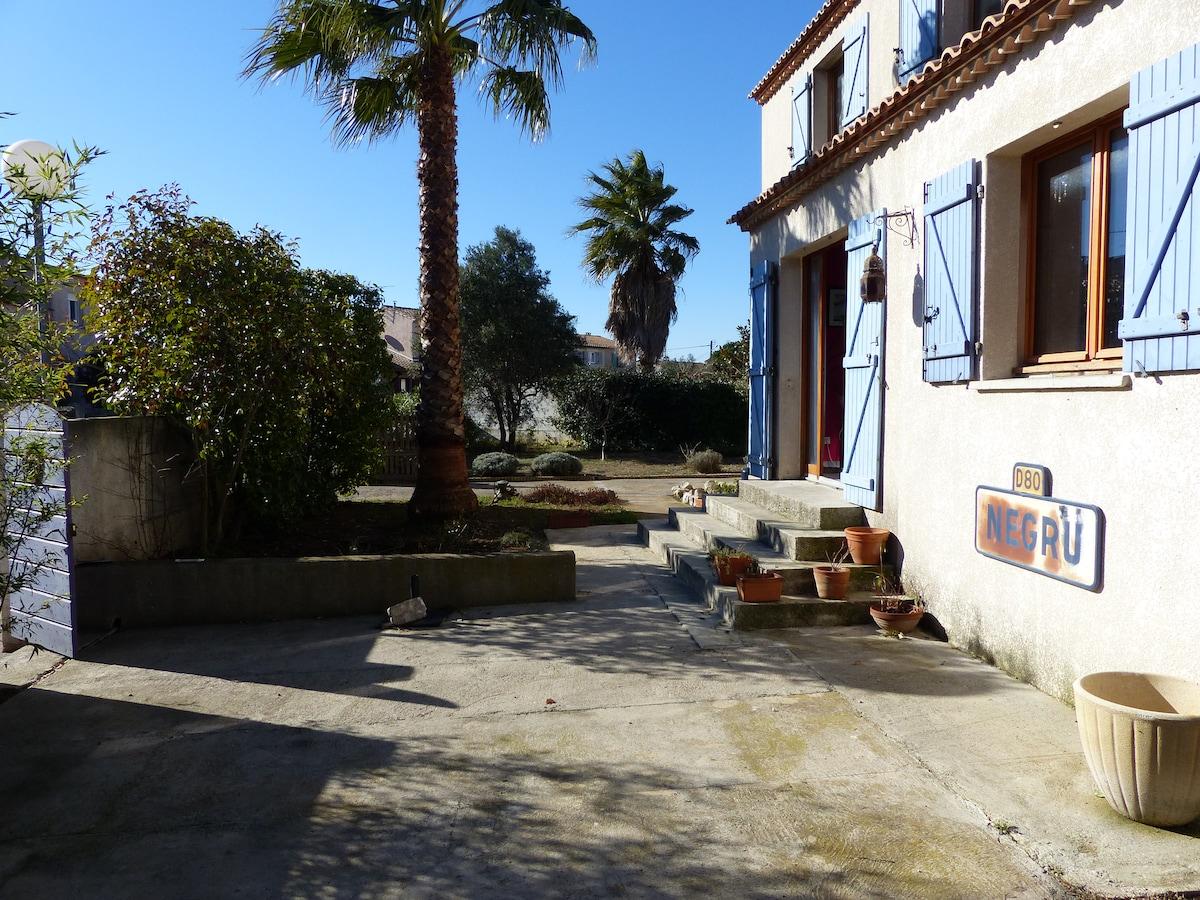 villa F5 entre Montpellier et Sète