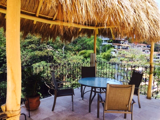 Palapa and Outdoor Dining.