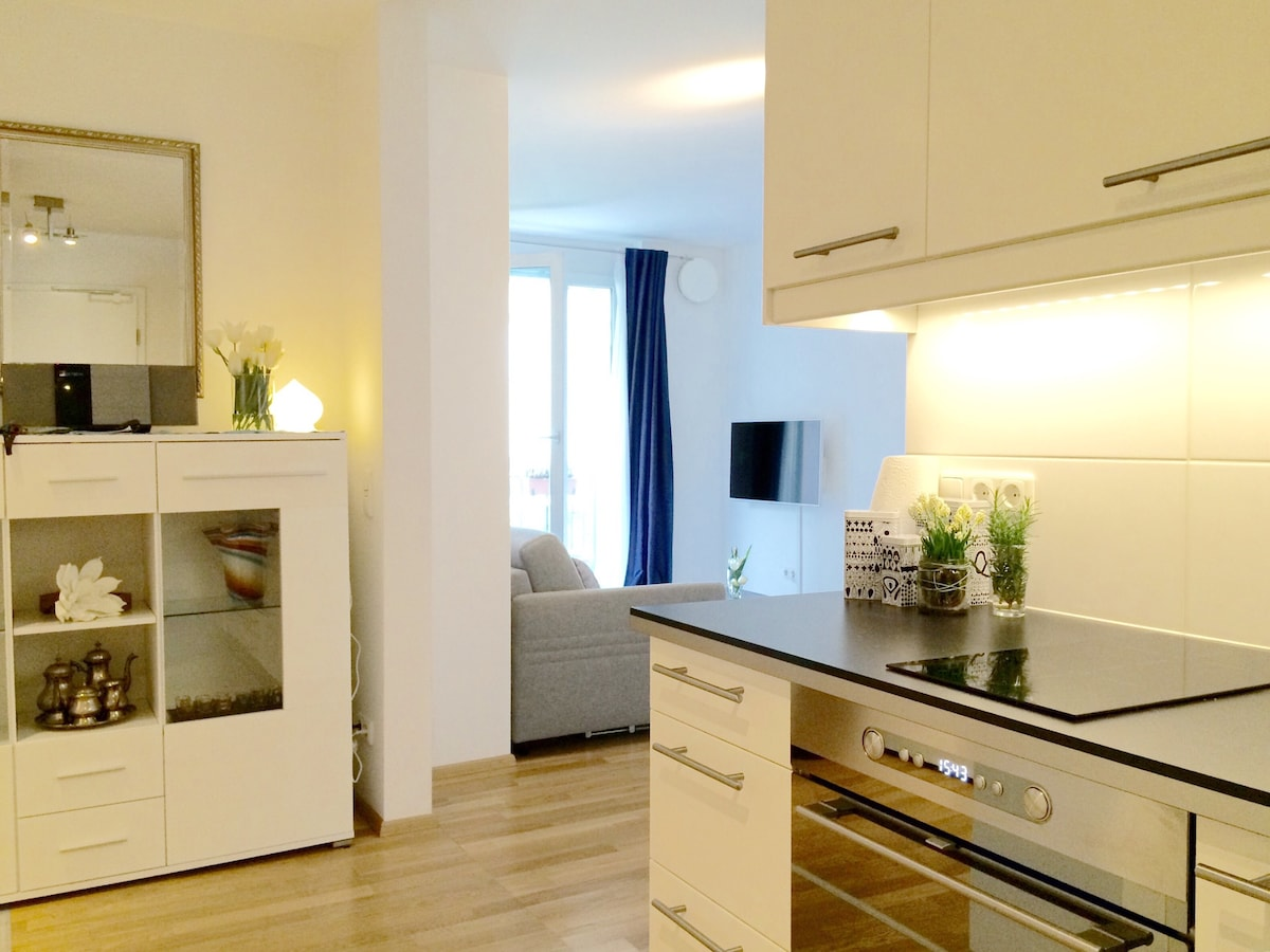 Brandnew apartment with balcony!