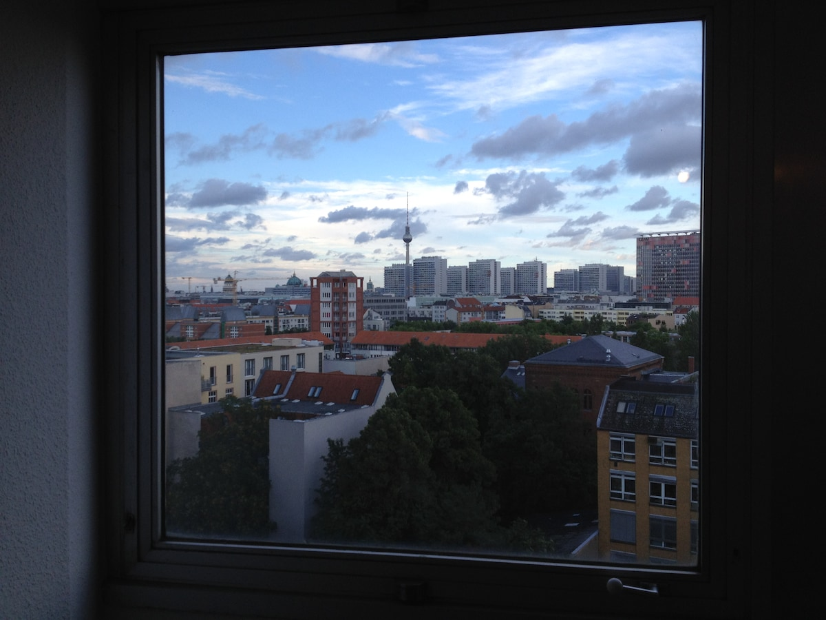 Glorious view over Berlin
